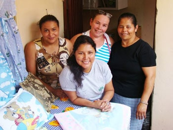 Sewing mamas work for a better future