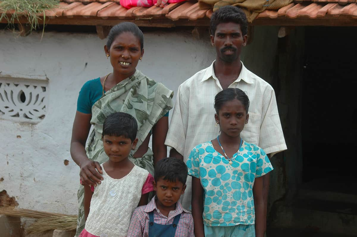 Infanticide in India Amudha Family