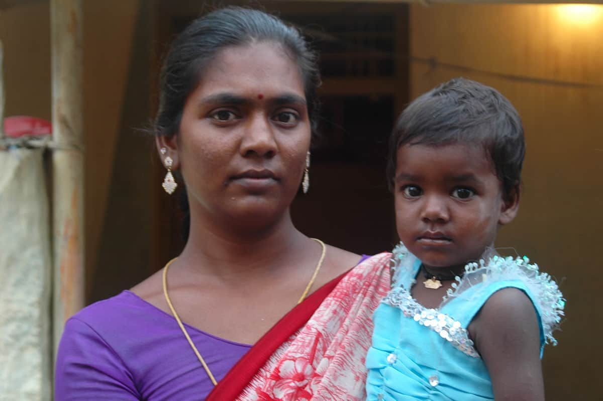 Infanticide in India Radhika with her Daughter
