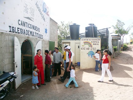 honduras church