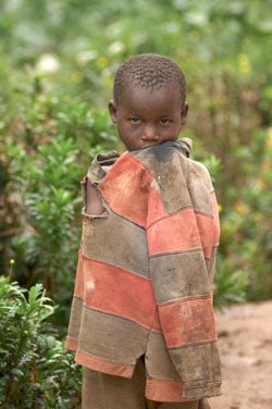 ending poverty ugandan boy