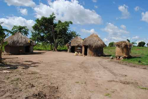 africa huts