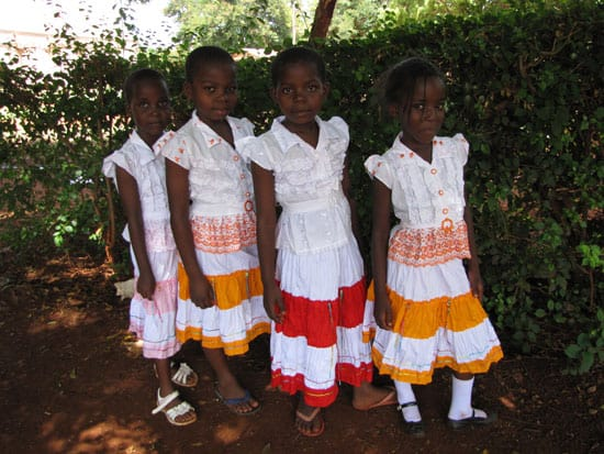 christmas in tanzania new clothes