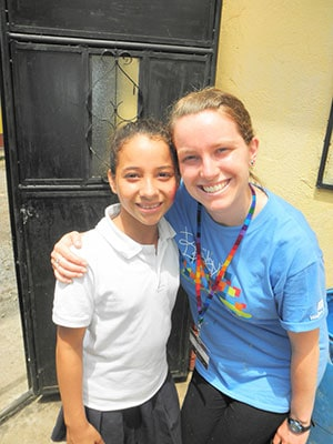 compassion summer intern veronica