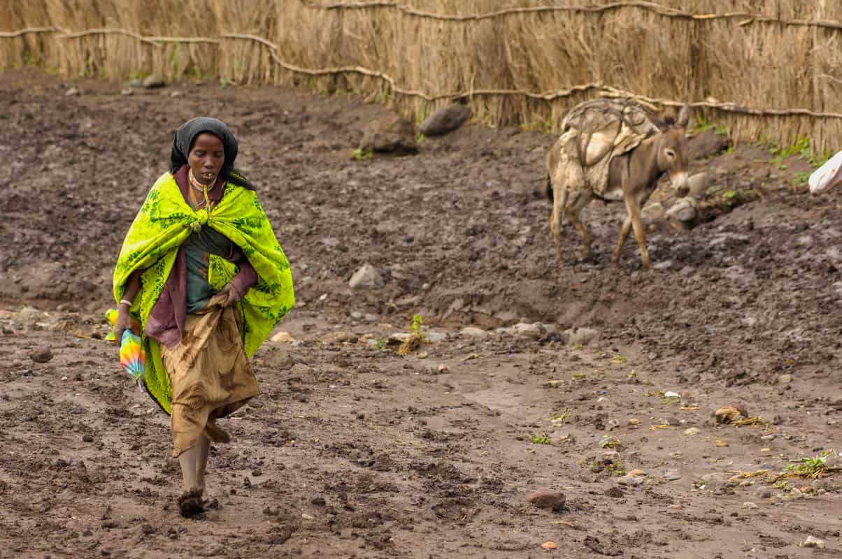 Drought in Ethiopia Famine