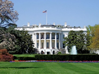 south view of the White House