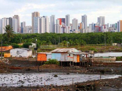slums in Recife Brazil