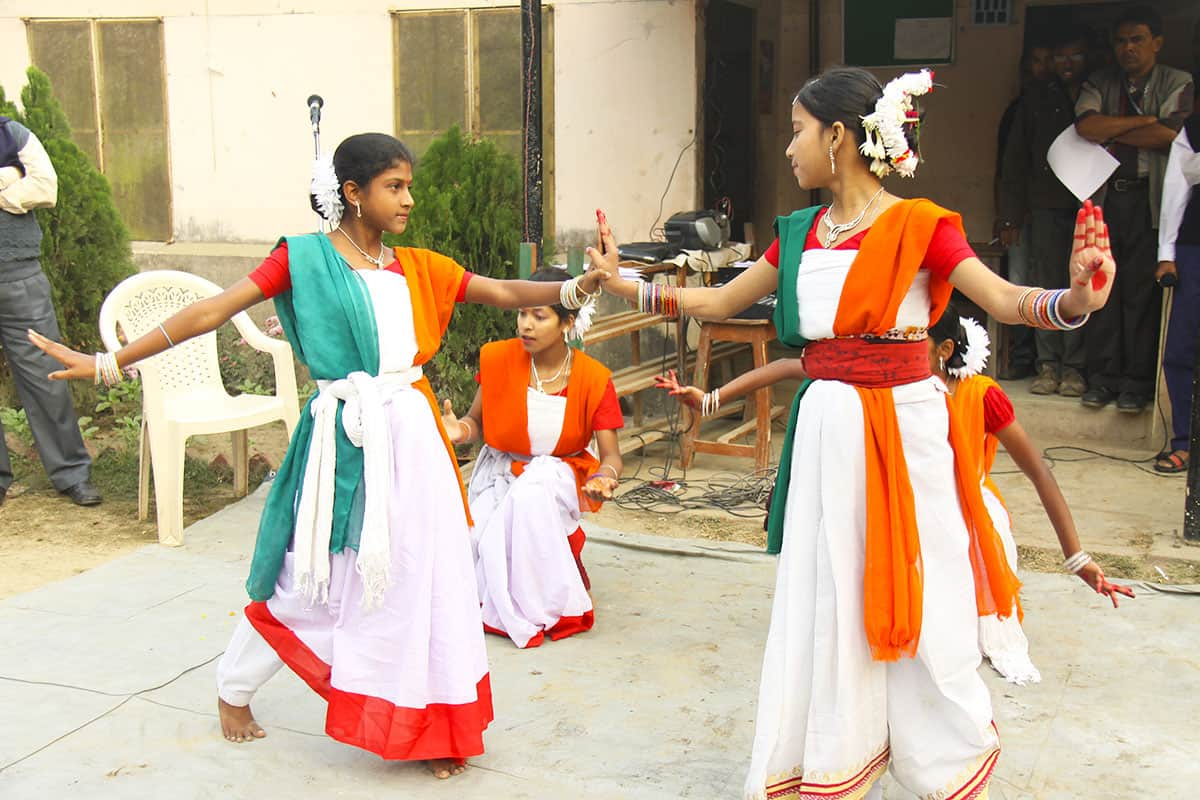 Republic Day in India Dancing