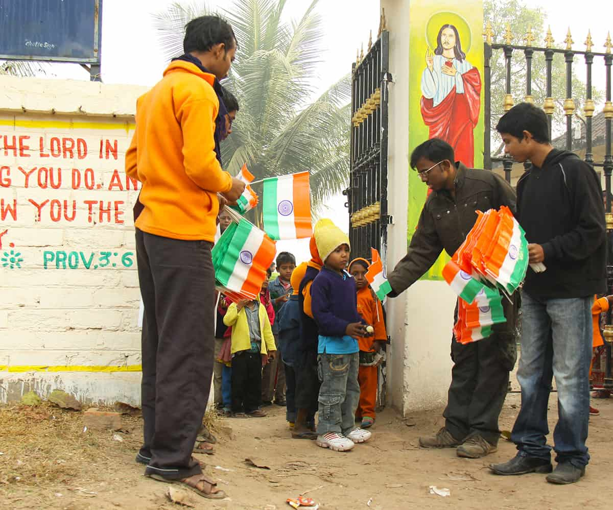 Republic Day in India Flags
