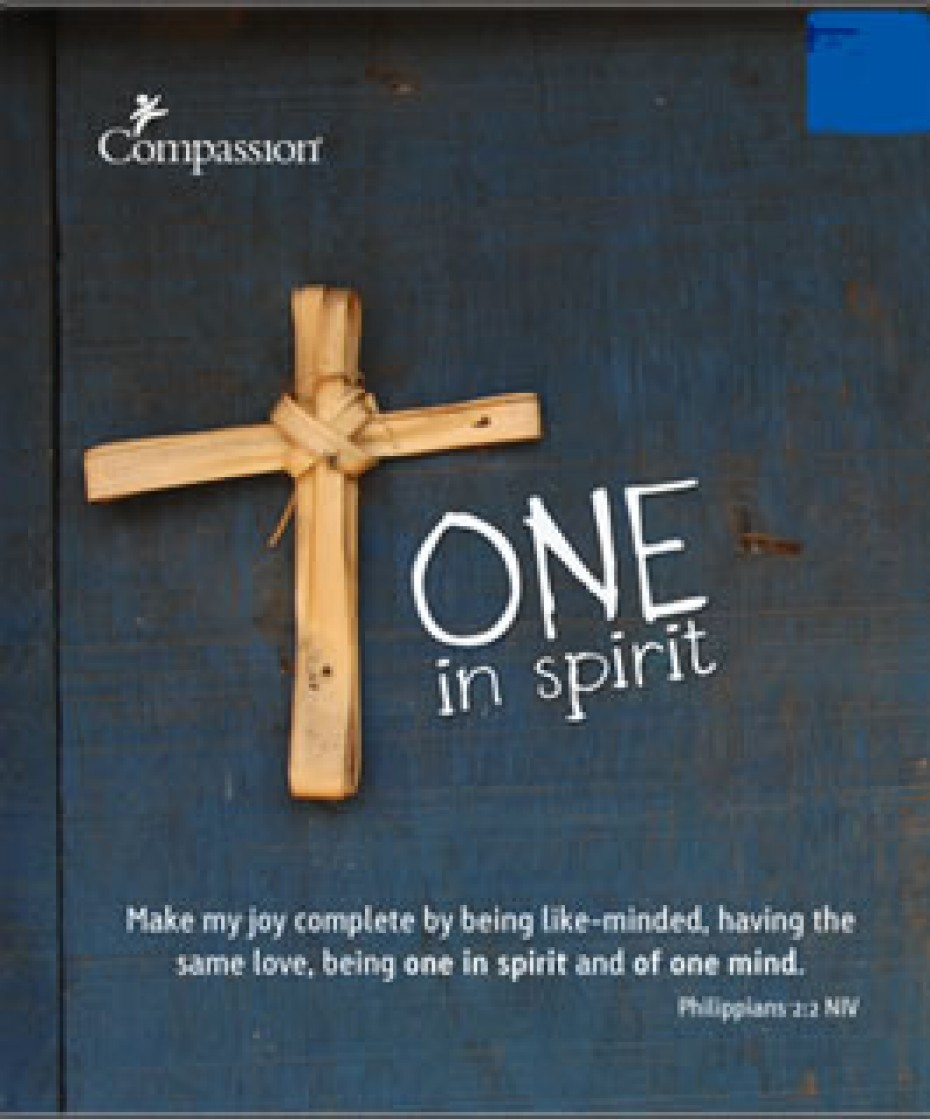 cover of devotional book titled One in Spirit