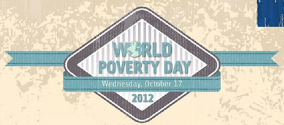 World Poverty Day Poster