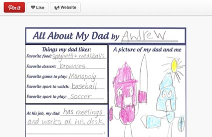 Pinterest Letter Writing Club Fathers Day Compassion