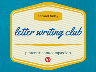 second friday letter writing club featured