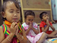pray with kids