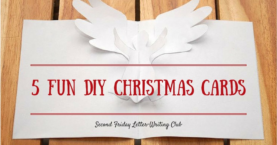 Diy christmas cards compassion international blog check out some fun do it yourself ideas for christmas cards you can send to the child or teen you sponsor solutioingenieria Images