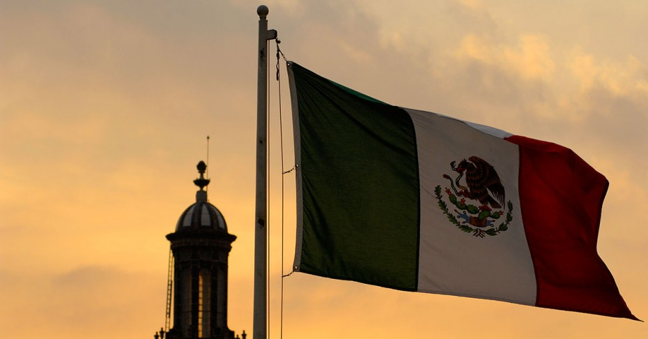 Inequality in Mexico Flag