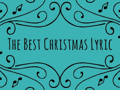 Best Christmas Lyric Featured