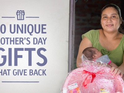 10 Unique Mother's Day Gifts That Give Back
