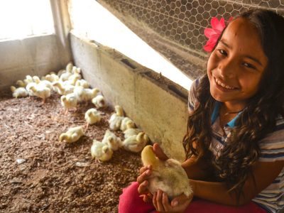How to Beat Food Insecurity With Chickens, Gardens and Moms