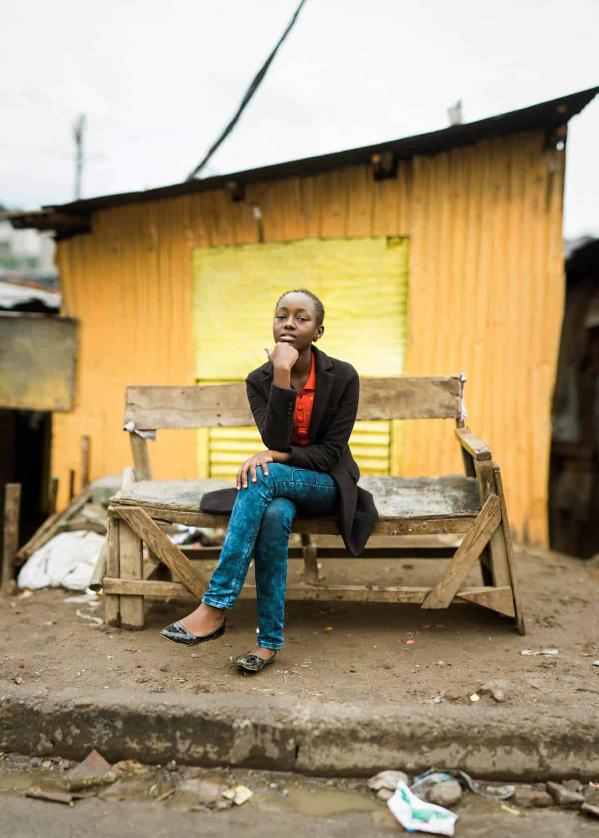 10 Portraits of the Most Courageous Girls in Kenya Mary
