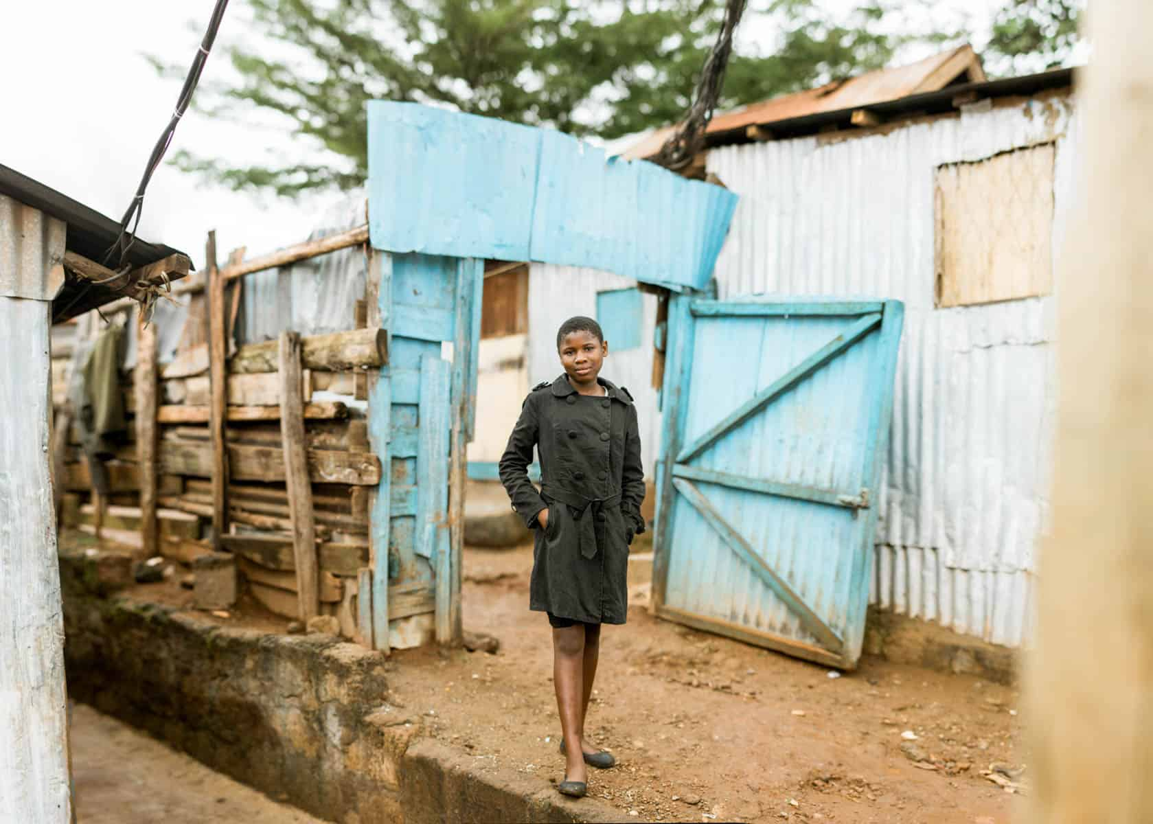 10 Portraits of the Most Courageous Girls in Kenya Valary