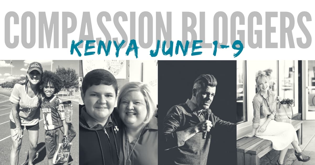 3 Reasons You'll Want to Follow the Compassion Bloggers in Kenya