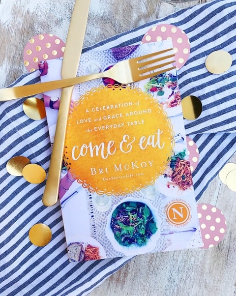 Come and Eat book by Bri McKoy_Launch Team Blog Post Announcement