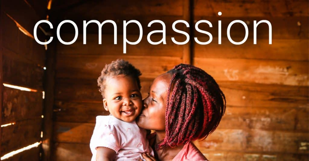 One word to move us in 2018: compassion