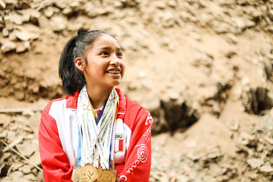 Daring to Overcome Poverty to Become National Champion