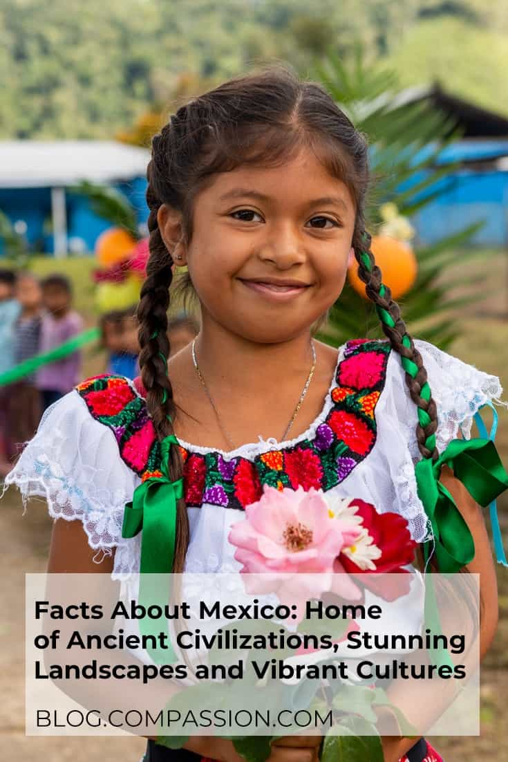Fun facts about Mexico Pinterest image
