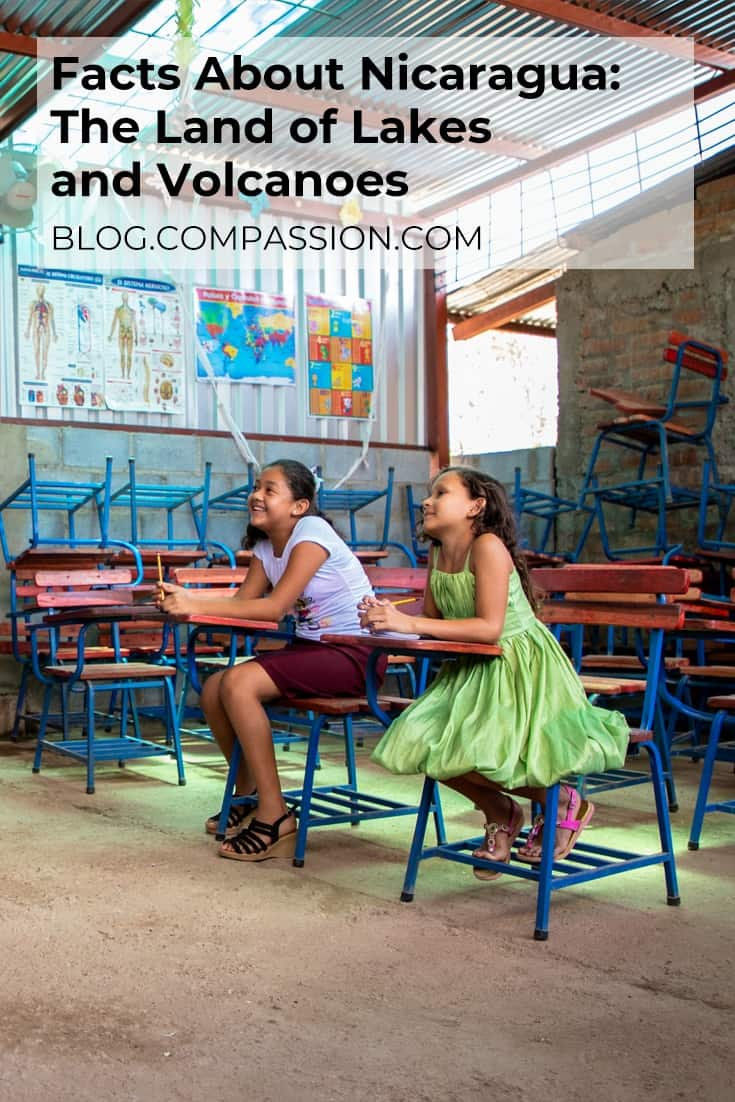 Facts about Nicaragua Pinterest image