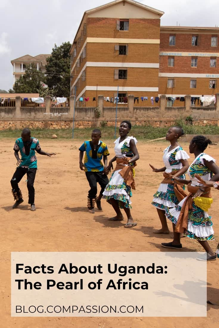 Facts about Uganda Pinterest image