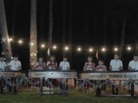 Children in Guatemala playing O Holy Night on xylophones.