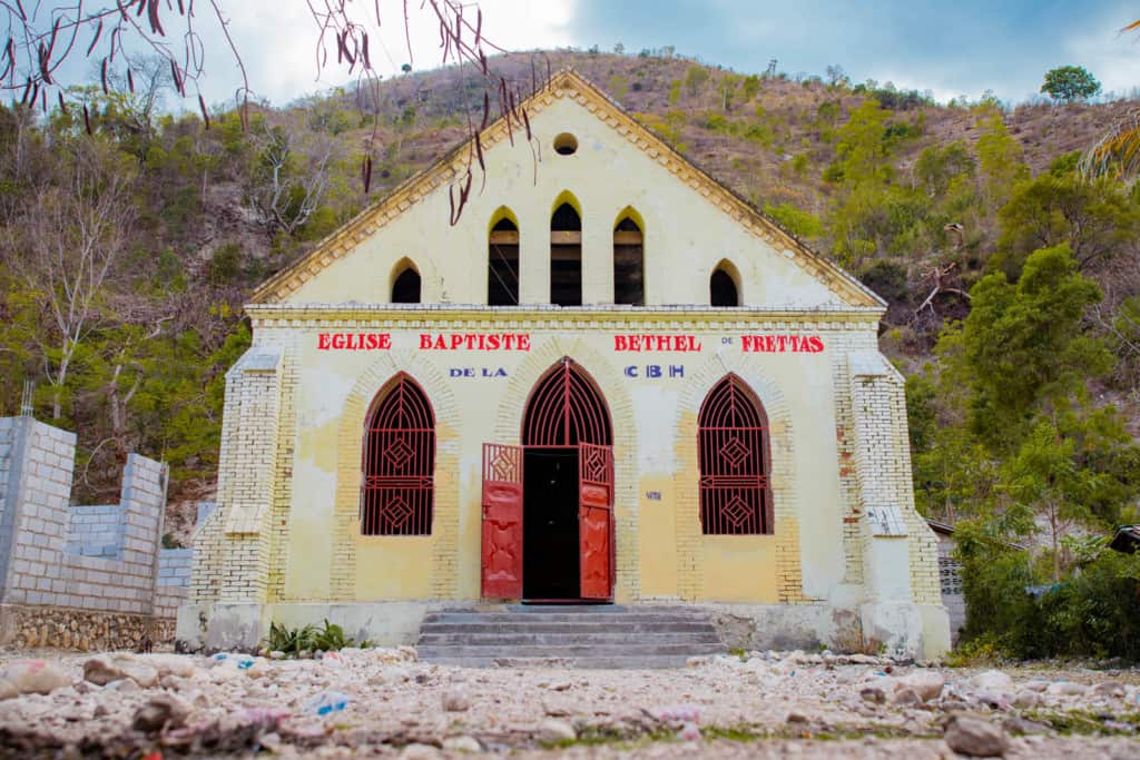 Built in 1933, this church hosts a livestock program that provides Compassion kids with sustainable income opportunities.